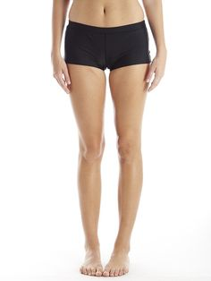 boyshorts in ebony #reyswimwear #boyshorts #blackboyshorts #modestswimsuit