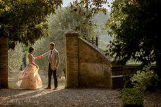 Siena wedding villa dancing