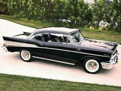 57 Chevy - one of my bucket list items to own one of these.
