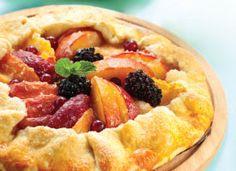 Recipe: Fresh Fruit Galette. Maximize summer's bounty!
