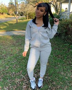 Cute Swag Outfits, Chill Outfits, Skirt Outfits, Trendy Outfits, Fashion Outfits, Girly Outfits, Sneakers Fashion, Shoes Sneakers, Black Girl Fashion