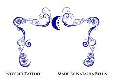 Neferet Tattoos by NatBelus.deviantart.com on @deviantART