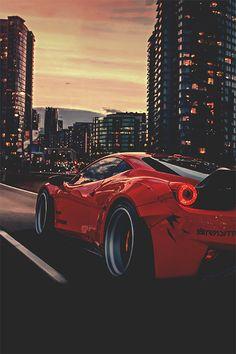 Ferrari 458 Liberty Walk by Marcel Lech  MFL