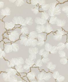 Pine by Sandberg - Grey - Wallpaper : Wallpaper Direct Hallway Wallpaper, Dining Room Wallpaper, Painted Branches, Tadelakt, Small Room Design, Wallpaper Direct, Bedroom Themes, Bedroom Ideas, Bedroom Decor