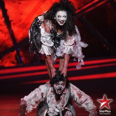 Vinod and Raksha managed to win judges hearts with their ghost's performance