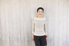 Kasane pullover by Rie (c) amirisu Using Shibui Cima and Silk Cloud.