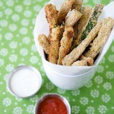 Zucchini Fries HealthyAperture.com