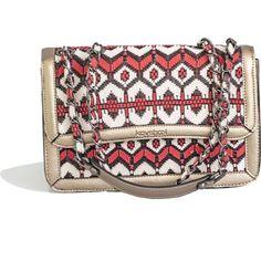Kavshak Halı Desen Detaylı Deri Çanta krem Zip Around Wallet, Bags, Fashion, Handbags, Moda, Fashion Styles, Fashion Illustrations, Bag, Totes