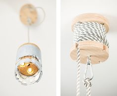 A Concrete Lamp That Comes With A Rock, Designed To Be 'Smashed' - DesignTAXI.com