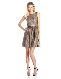Ellen Tracy Women's Sleeveless Lace F…