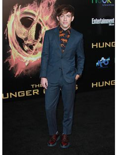 Kevin McHale At The Hunger Games Premire