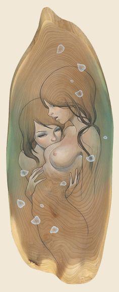 Amazing Paintings by Audrey Kawasaki Art And Illustration, Illustrations, Audrey Kawasaki, Graffiti, Lesbian Art, Art Japonais, Amazing Paintings, Animation, Erotic Art