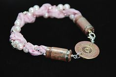 shotgun shell bracelet.... need to make this soooo bad