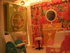 Barbie Salon Plastic Shelving Units, Barbie Store, Home Appliances, Living Room, House Appliances, Plastic Shelves, Appliances