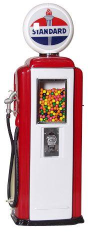 Tokheim 39 Standard Gas Pump Gumball Machines | Gas Pump Vending Machine