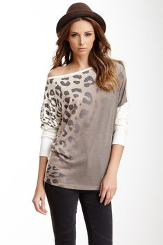 Boatneck Dolman Sweater by Go Couture on @HauteLook