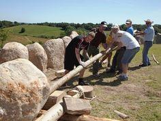 Sagnlandet Lejre: Sagnskibet. Land of Legends. Building the first stoneship since the time of the vikings