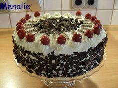 Black Forest cake - recipe - kuchenrezepte home Easy Cake Recipes, Dessert Recipes, German Cake, German Desserts, Black Forest Cake, New Cake, Crab Cakes, Recipe For 4, No Bake Cake