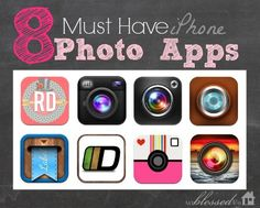 """I use these eight photo apps regularly and really love how they make phone pictures special and unique."" ~ 8 Favorite iPhone Photo Apps by Myra Hope   