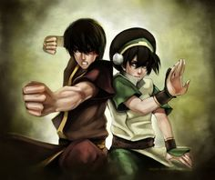 Two costumes I want to do (or redo, in the case of Toph). Zuko from Book 3, and Toph.