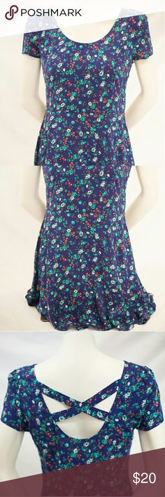 Pac Sun floral dress Brand New LA Hearts mini dress. Could also be used as a long shirt or paired up with some leggings! LA Hearts Dresses Mini