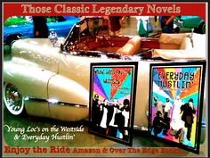 "THOSE CLASSIC LEGENDARY NOVELS ""EVERYDAY HUSTLIN'"" & ""YOUNG LOC'S on the WESTSIDE"" by Legendary Ali Shabazz Amazon and Over the Edge Books. Paperback and Kindle. Enjoy the Ride. #everydayhustlin #legendaryalishabazz #overtheedgebooks #book #westcoasthiphop #urbannovels #bestseller #bestsellingnovel #nytimesbestseller #adult swim #soulbrotherlegendary #comedy legendaryalishabazz.wix.com/soulbrotherlegendary"