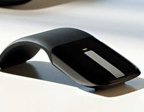"""Check out this @Behance project: """"Microsoft Arc Touch Mouse"""" https://www.behance.net/gallery/1770408/Microsoft-Arc-Touch-Mouse"""