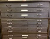Flat file cabinet for office/craft room