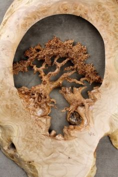 Wood Carving is from a burl, so beautiful!!!