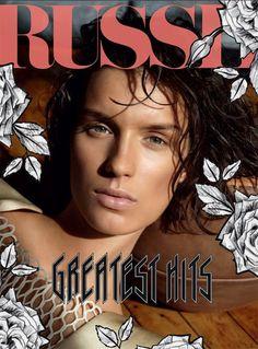 Marte Mei Van Haaster - RUSSH Magazine Cover [Australia] (December 2012)