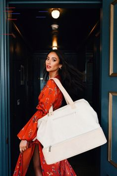 Shay Mitchell Thought of Everything With Her Affordable New Travel Line Shay Mitchell Launches Affordable BEIS Travel Bags, Luggage: Details Shay Mitchell, Travel Luggage, Travel Bags, Leather Luggage Tags, New Travel, Travel Europe, Family Travel, Ultimate Collection, Cheap Bags
