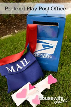 Housewife Eclectic: Pretend Play Post Office