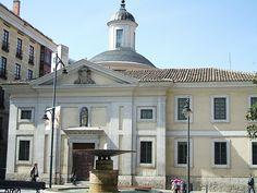 La Iglesia del Monasterio de Santa Ana, Valladolid, España, de Francisco Sabatini (estilo neoclásico)