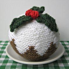 Christmas Pudding knitting pattern pdf