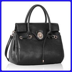 Womens Designer Bags Ladies New Celebrity Style Faux Leather Satchel Handbags - Top handle bags (*Amazon Partner-Link)