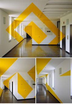 Anamorphic Geometric Installations