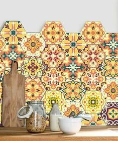 Classification: For Tile,For Wall,Furniture Stickers,Floor Stickers Pattern: Sticker Specification: Multi-piece Package Material: PVC Scenarios: Wall ARTISALOS. Floor Stickers, Wall Stickers, Cushion Covers, Diy Painting, Wall Tiles, Candlesticks, Moroccan, Home Accessories, Artisan