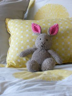 Ravelry: Baylin Bunny pattern by Allison Cleaver