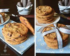 Galletas de vainilla con chips de chocolate Colombian Desserts, Sweet Desserts, Pancakes, Cookies, Breakfast, Recipes, Food, Gastronomia, Chocolate Chips