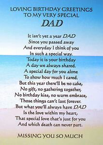 To my very special dad