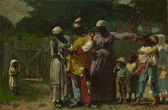 Winslow Homer: Dressing for the Carnival (22.220) | Heilbrunn Timeline of Art History | The Metropolitan Museum of Art