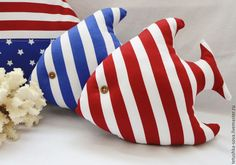 Текстильная рыбка По морям, по волнам -