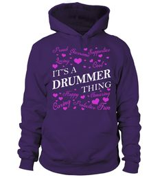 Its a DRUMMER Thing - Name Shirts drum T-shirt