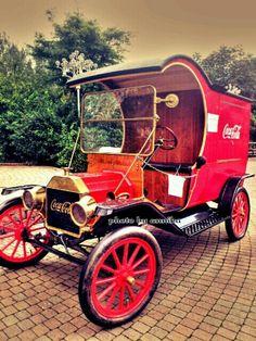 Beautiful coca-cola car!