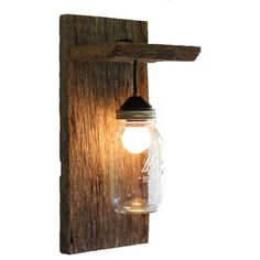Rustic Wall Sconces by Grindstone Design
