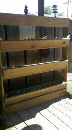 Herb planter I made myself