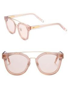3bc32bc8655d Gentle Monster - Tilda Swilton X Gentle Monster Newtonic Rounded Square  Sunglasses