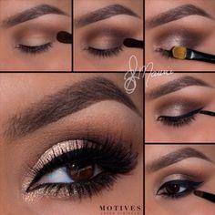 Gorgeous Makeup: Tips and Tricks With Eye Makeup and Eyeshadow – Makeup Design Ideas Eye Makeup Art, Eye Makeup Tips, Eyeshadow Makeup, Makeup Ideas, Wolf Makeup, Mac Makeup, Makeup Hacks, Prom Makeup, Makeup Tutorials