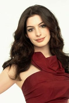 The Get Smart star looked stunning in this scarlet Marc Jacobs dress. Anne Hathaway in Marie Claire