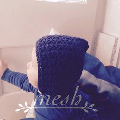 crochet bonnet by meshcrochet on Etsy Crochet Baby, Kids Outfits, Beanie, Mesh, Trending Outfits, Unique Jewelry, Hats, Handmade Gifts, Clothes